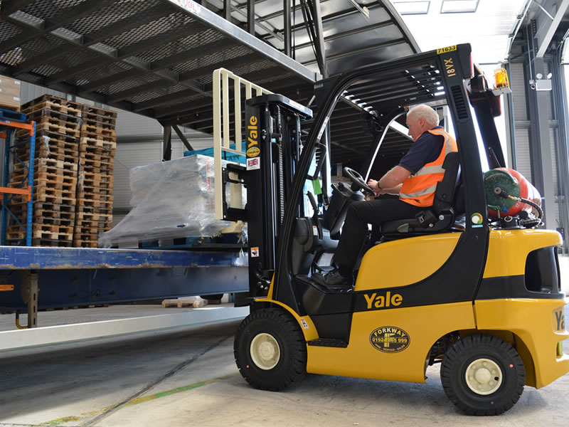 NPORs Approved Forklift Truck Training Courses