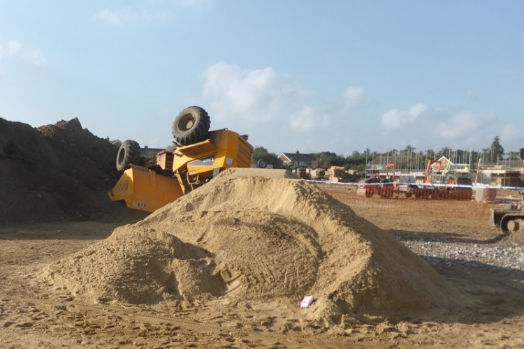 Builders fined £225k for dumper truck fatality