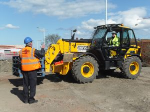 NPORS Plant Machinery Marshall Training Course