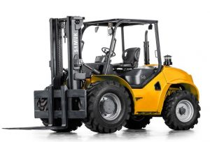 NPORS Accredited Rough Terrain Forklift Truck Training Course