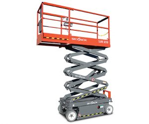 Electric Scissor Lift Access Machine MEWP LOLER Inspection