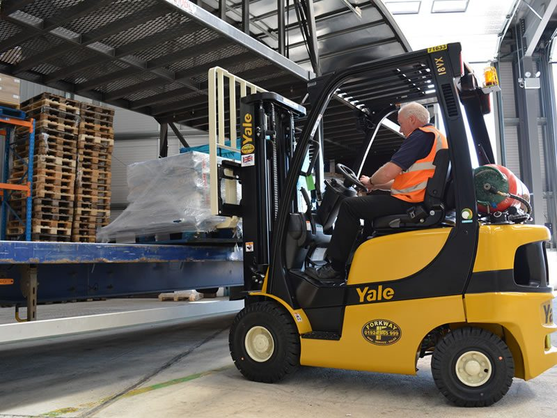 NPORS Accredited Counterbalance Forklift Truck Training Course